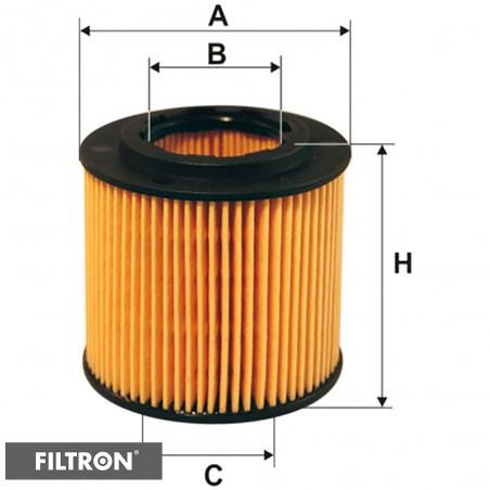 FILTRON FILTR OLEJU OE671