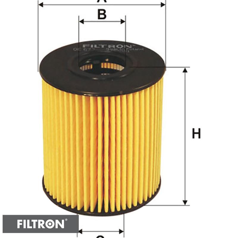 FILTRON FILTR OLEJU OE673