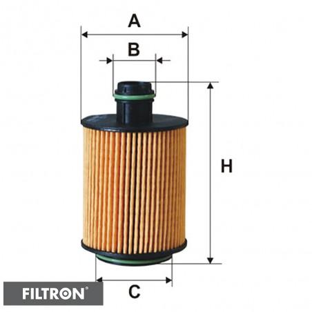 FILTRON FILTR OLEJU OE682/2