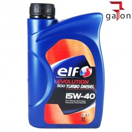 ELF EVOLUTION 500 TURBO DIESEL 15W40 1L | Sklep Online Galonoleje.pl