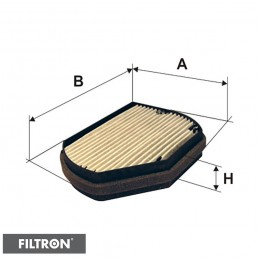 FILTRON FILTR KABINOWY WĘGLOWY K1016A