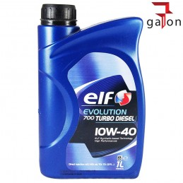 ELF EVOLUTION 700 TURBO DIESEL 10W40 1L | Sklep Online Galonoleje.pl