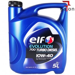 ELF EVOLUTION 700 TURBO DIESEL 10W40 5L | Sklep Online Galonoleje.pl