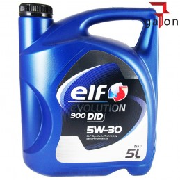 ELF EVOLUTION 900 DID 5W30 5L | Sklep Online Galonoleje.pl