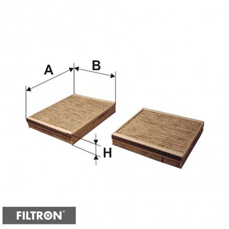 FILTRON FILTR KABINOWY WĘGLOWY K1179A-2x