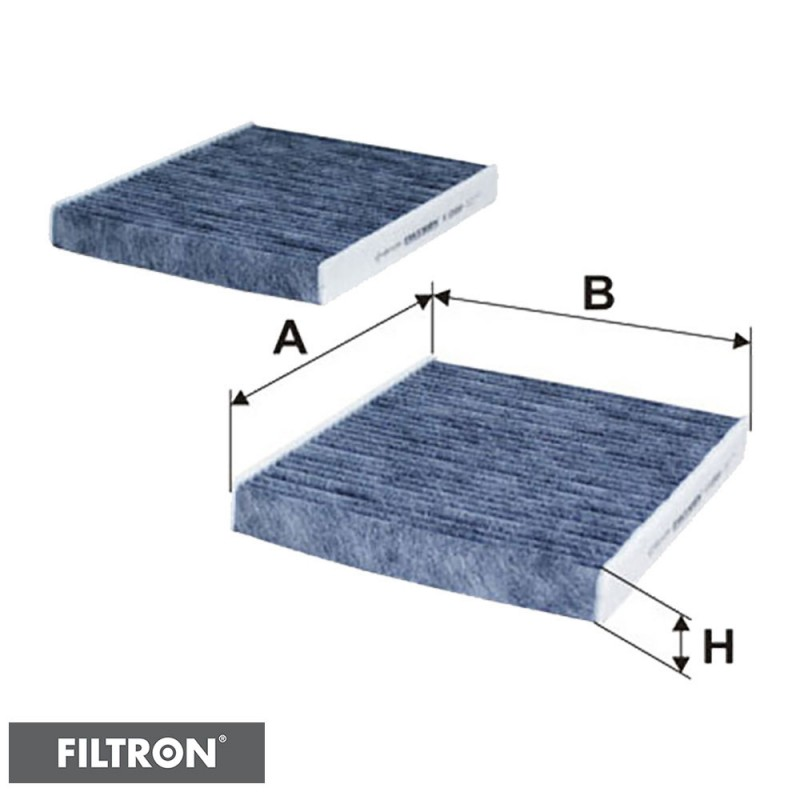 FILTRON FILTR KABINOWY WĘGLOWY K1260A-2x