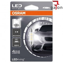 OSRAM LEDriving 12V 0.5W 36MM C5W SV8.5-8 COOL WHITE| Galonoleje.pl