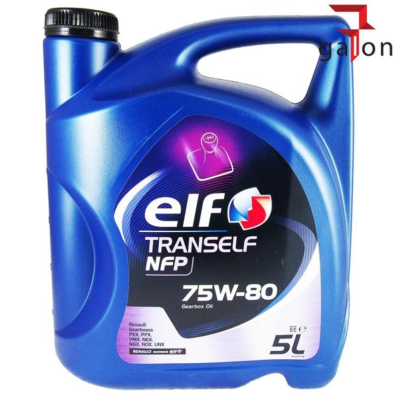 ELF TRANSELF NFP 75W80 5L | Sklep Online Galonoleje.pl