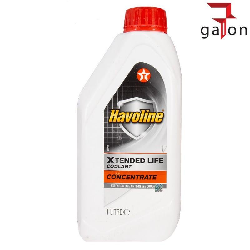 TEXACO HAVOLINE XLC G12 KONCENTRAT 1L | Sklep Online Galonoleje.pl