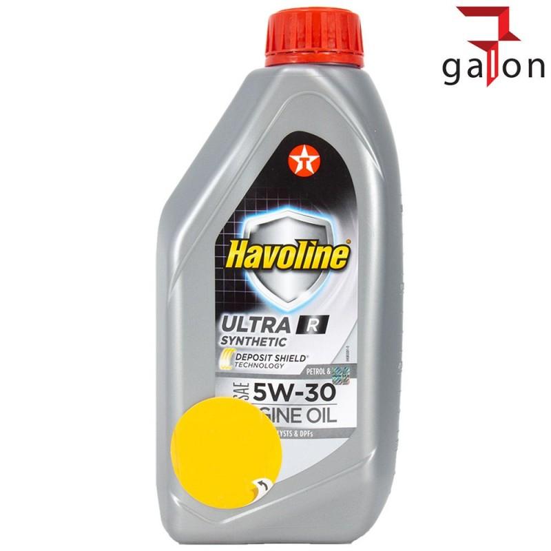 TEXACO HAVOLINE ULTRA R 5W30 1L | Sklep Online Galonoleje.pl