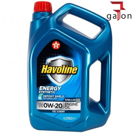 TEXACO HAVOLINE ENERGY 0W20 4L