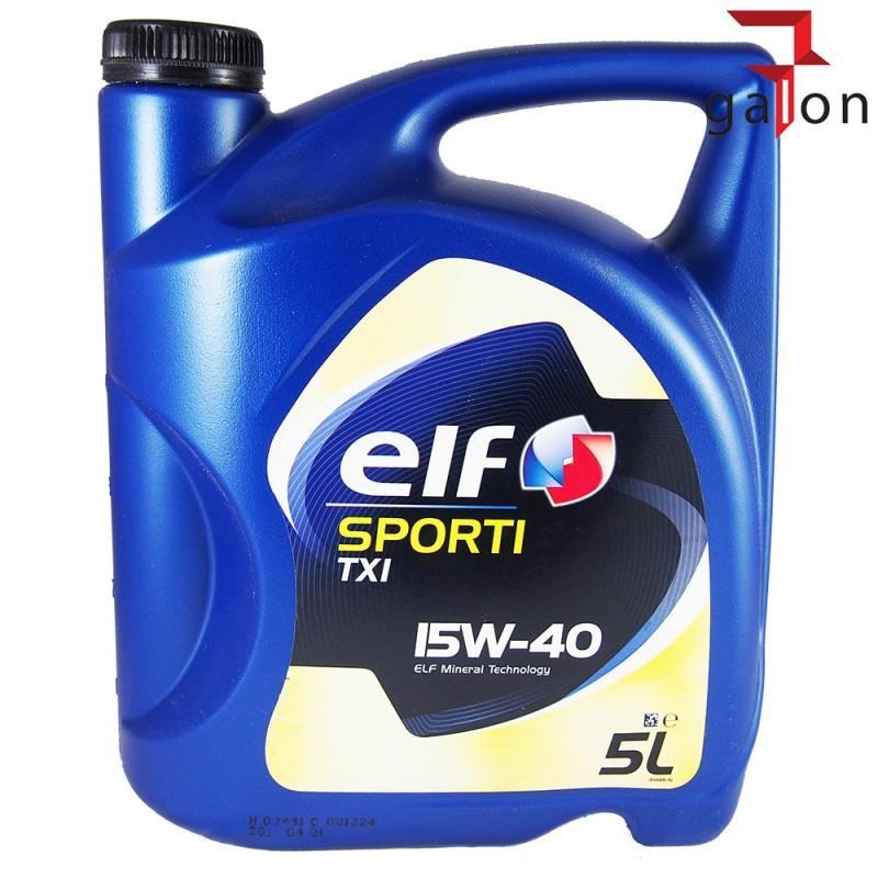 ELF EVOLUTION 500 TXI 15W40 5L | Sklep Online Galonoleje.pl