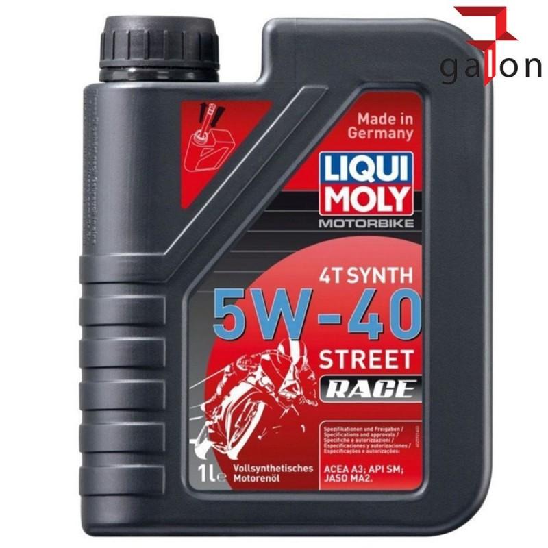 LIQUI MOLY MOTORBIKE 4T SYNTH 5W40 STREET RACE 1L 2592 |Galonoleje.pl