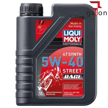 LIQUI MOLY MOTORBIKE 4T SYNTH 5W40 STREET RACE 1L 2592