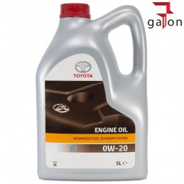 TOYOTA ADVANCED FUEL ECONOMY 0W20 5L