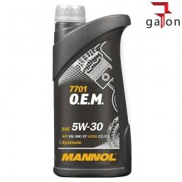 MANNOL 7701 OEM OPEL/CHEVROLET C2/C3 5W30 1L