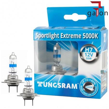 TUNGSRAM SPORTLIGHT EXTREME 5000K H7 55W