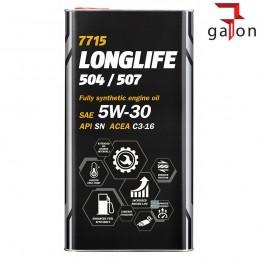 MANNOL 7715 OEM VW/SKODA/AUDI 5W30 5L metal|Sklep Online Galonoleje.pl