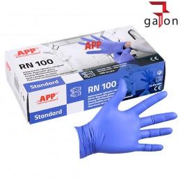 APP RN100 RĘKAWICE NITRYLOWE roz. L 100szt.|Sklep Online Galonoleje.pl