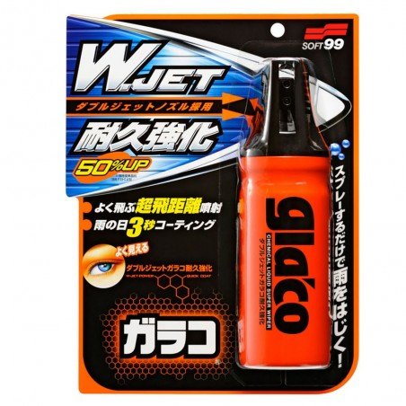 SOFT99 GLACO W Jet Strong Spray - niewidzialna wycieraczka