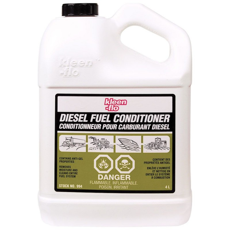 KLEEN-FLO DIESEL FUEL CONDITIONER 4L -USZLACHETNIACZ DO DIESLA 993