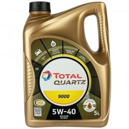 TOTAL QUARTZ 9000 5W40 5L   Sklep Online Galonoleje.pl