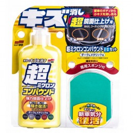 SOFT99 Micro Liquid Compound Dark 250ml - cleaner do lakieru