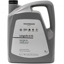 VW ORYGINALNY LongLife III FE 0W30 5L   Sklep Online Galonoleje.pl