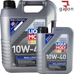 LIQUI MOLY MoS2 SUPER LEICHTLAUF 10W40 5L + GRATIS 1L 2184P
