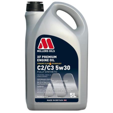 MILLERS XF Premium C2/C3 5W30 5L