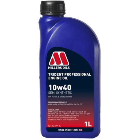 MILLERS Trident Professional 10w40 1L