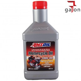 AMSOIL SYNTHETIC MOTORCYCLE OIL 10W30 946ML MCT