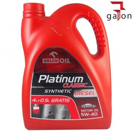 ORLEN PLATINUM CLASSIC DIESEL SYNTHETIC 5W40 4,5L