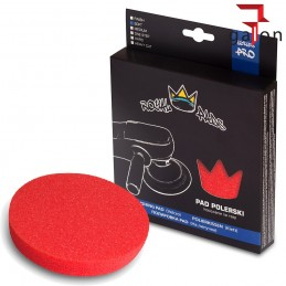 ROYAL PADS PRO SOFT PAD POLISHING (CZERWONY) 80MM